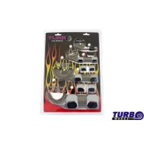Cső bandázs TurboWorks Ezüst
